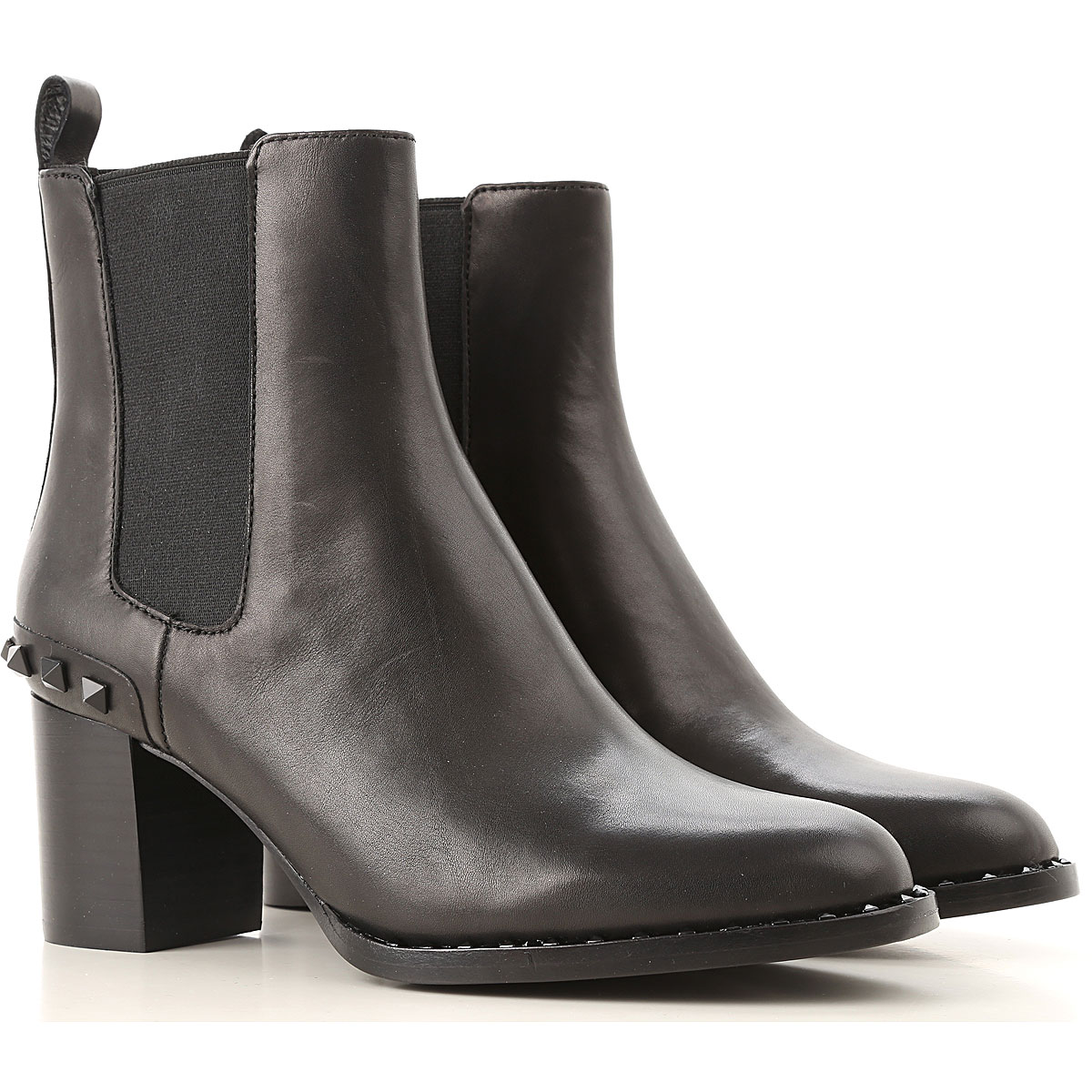 Ash Chelsea Boots for Women On Sale, Black, Leather, 2019, 10 5 6