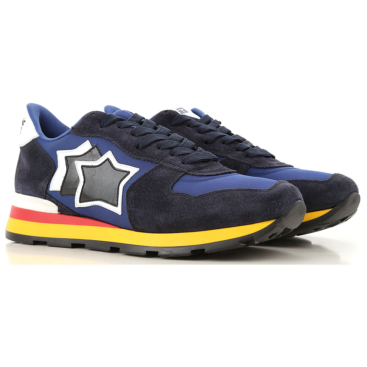 Image of Atlantic Stars Sneakers for Men, Blue Navy, suede, 2017, 10 10.5 6.5 7.5 8 9