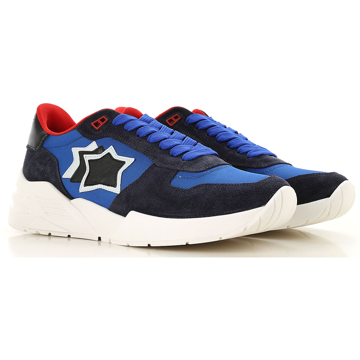 Image of Atlantic Stars Sneakers for Men, Blue Navy, suede, 2017, 6.5 7.5 8 9
