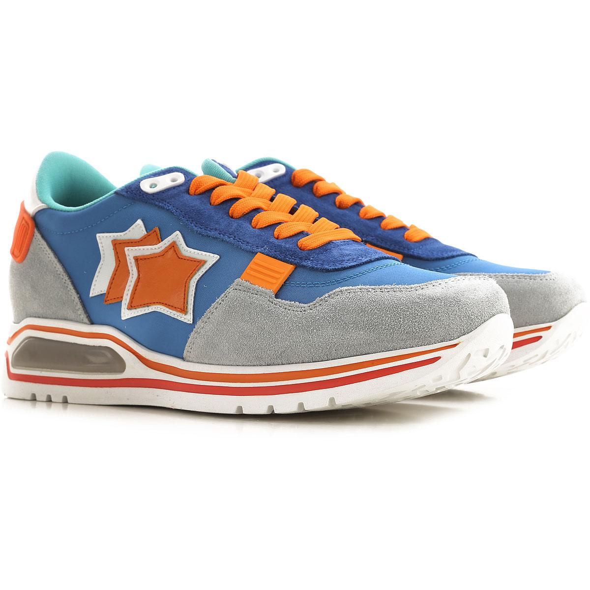 Atlantic Stars Sneakers for Men On Sale, Grey, suede, 2019, 10.5 7.5 8 9