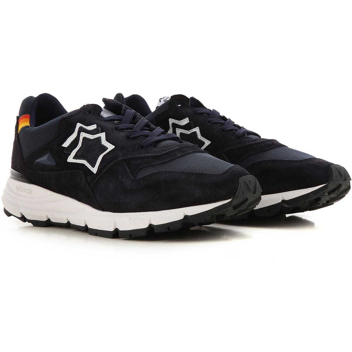 Atlantic Stars Sneakers for Men On Sale, Black, Leather, 2019, 10 10.5 11.5 9
