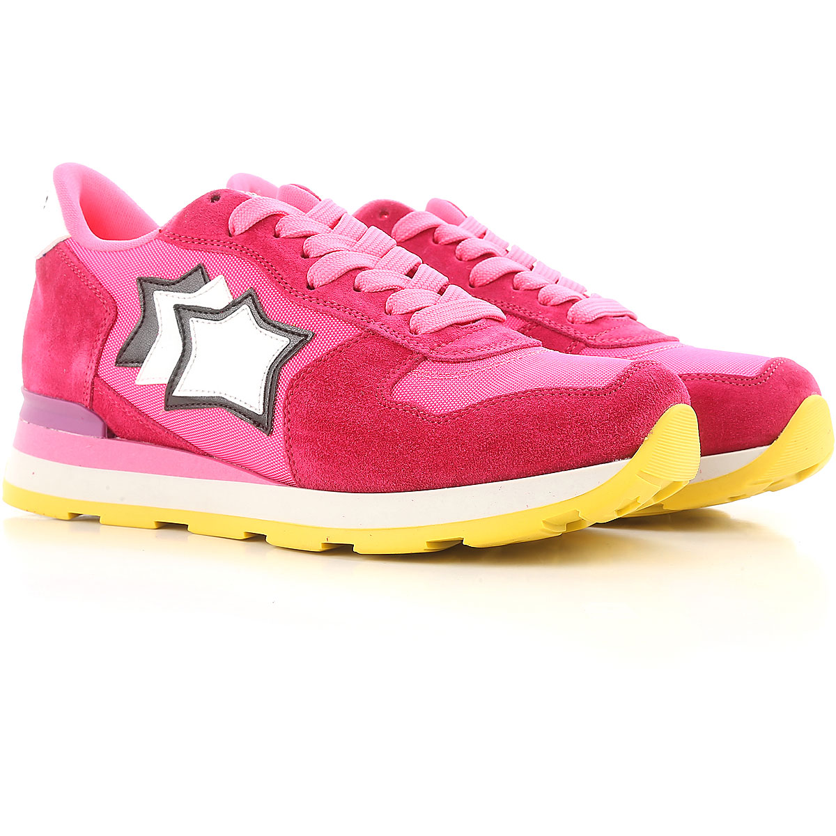 Atlantic Stars Sneakers for Women On Sale, Pink, Suede leather, 2019, 10 6 7 8 9