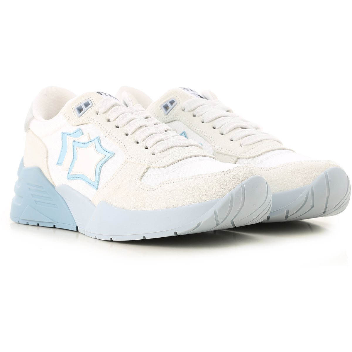Atlantic Stars Sneakers for Women On Sale in Outlet, White, suede, 2019, 10 6 7 8