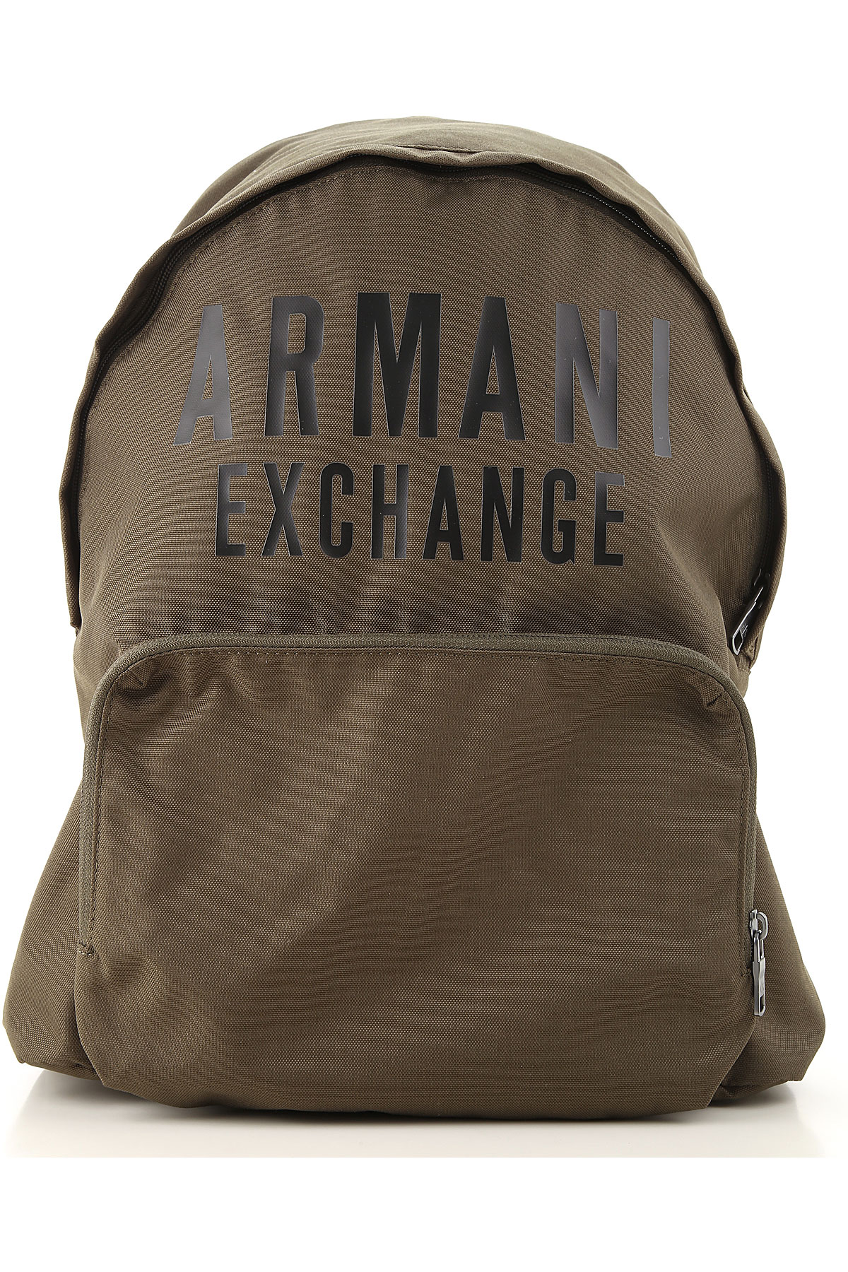 Armani Exchange Backpack for Men On Sale, Military Green, polyester, 2019