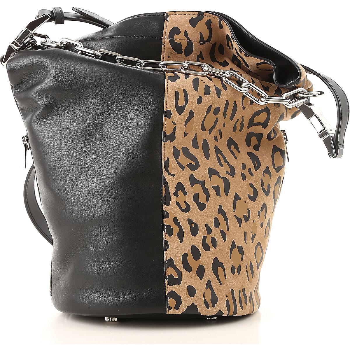 Image of Alexander Wang Handbags, Black, Leather, 2017