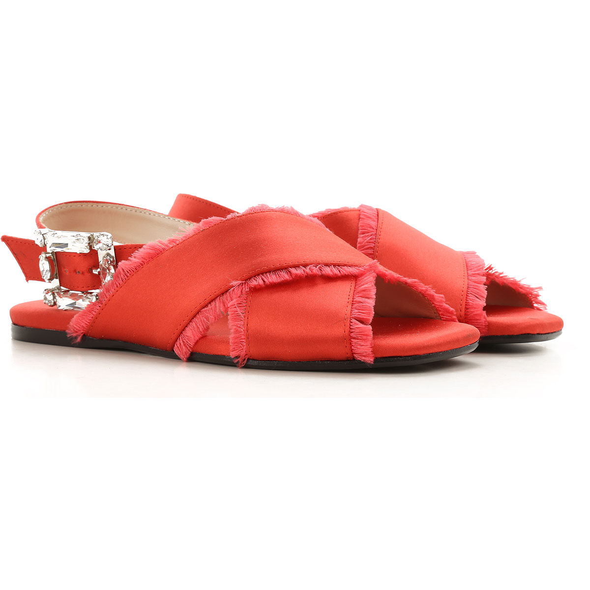Anna Baiguera Womens Shoes On Sale in Outlet, Coral, Leather, 2019, 8 9