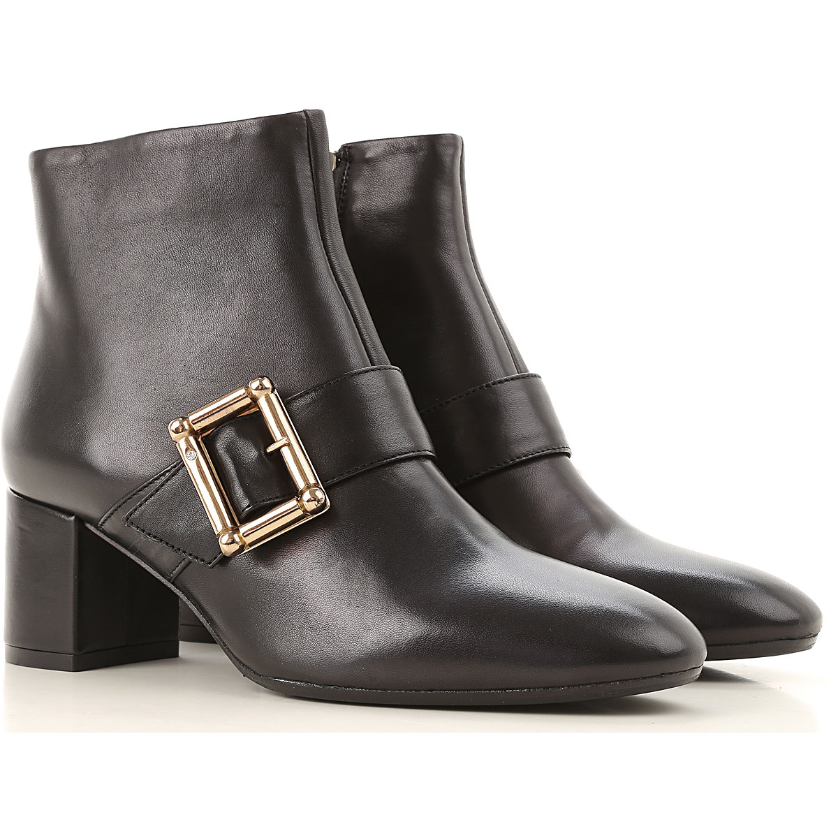 Anna Baiguera Boots for Women, Booties On Sale, Black, Leather, 2019, 10 11 6 7 8 9