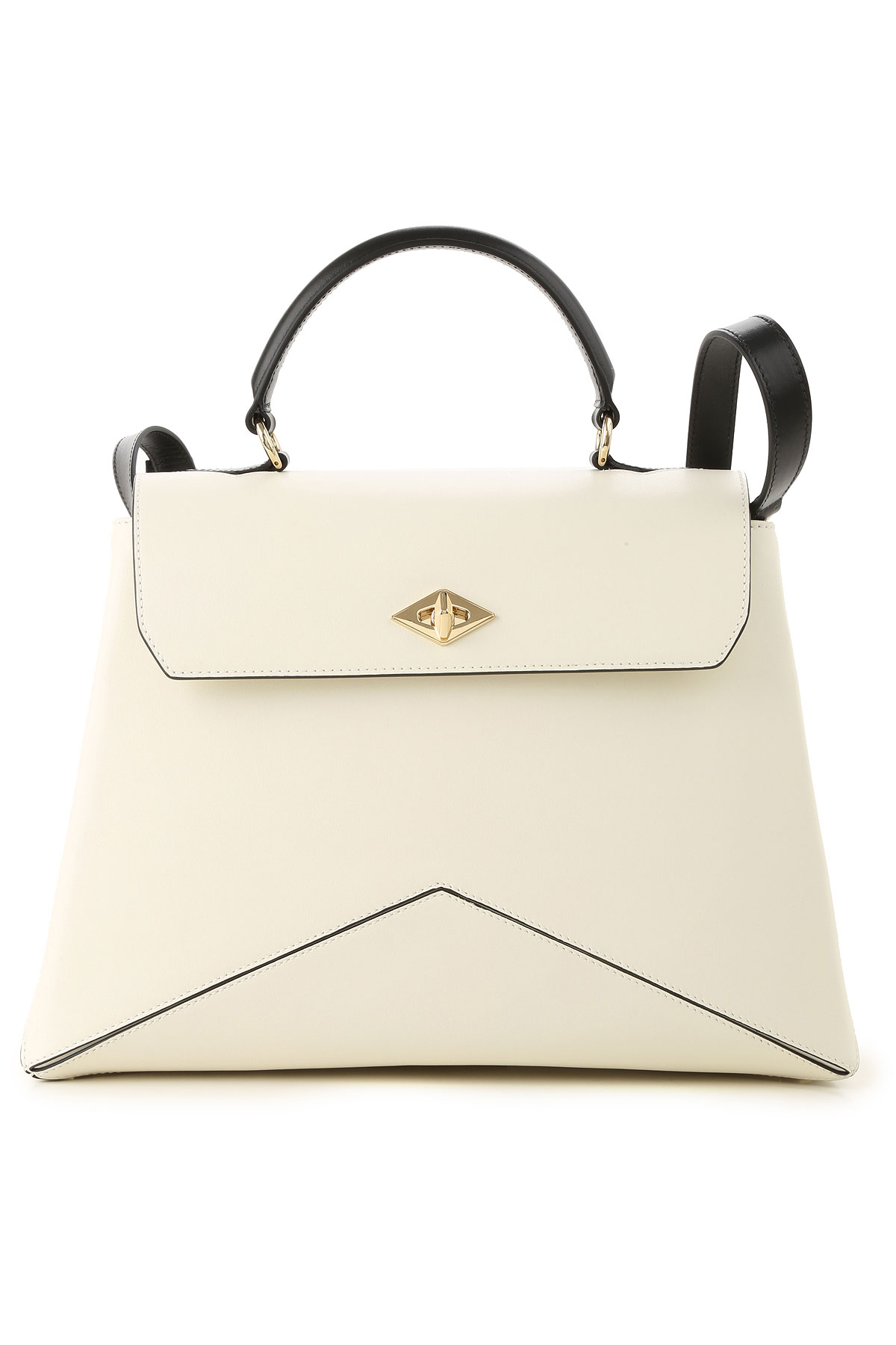 Image of Ballantyne Handbags, White, Leather, 2017