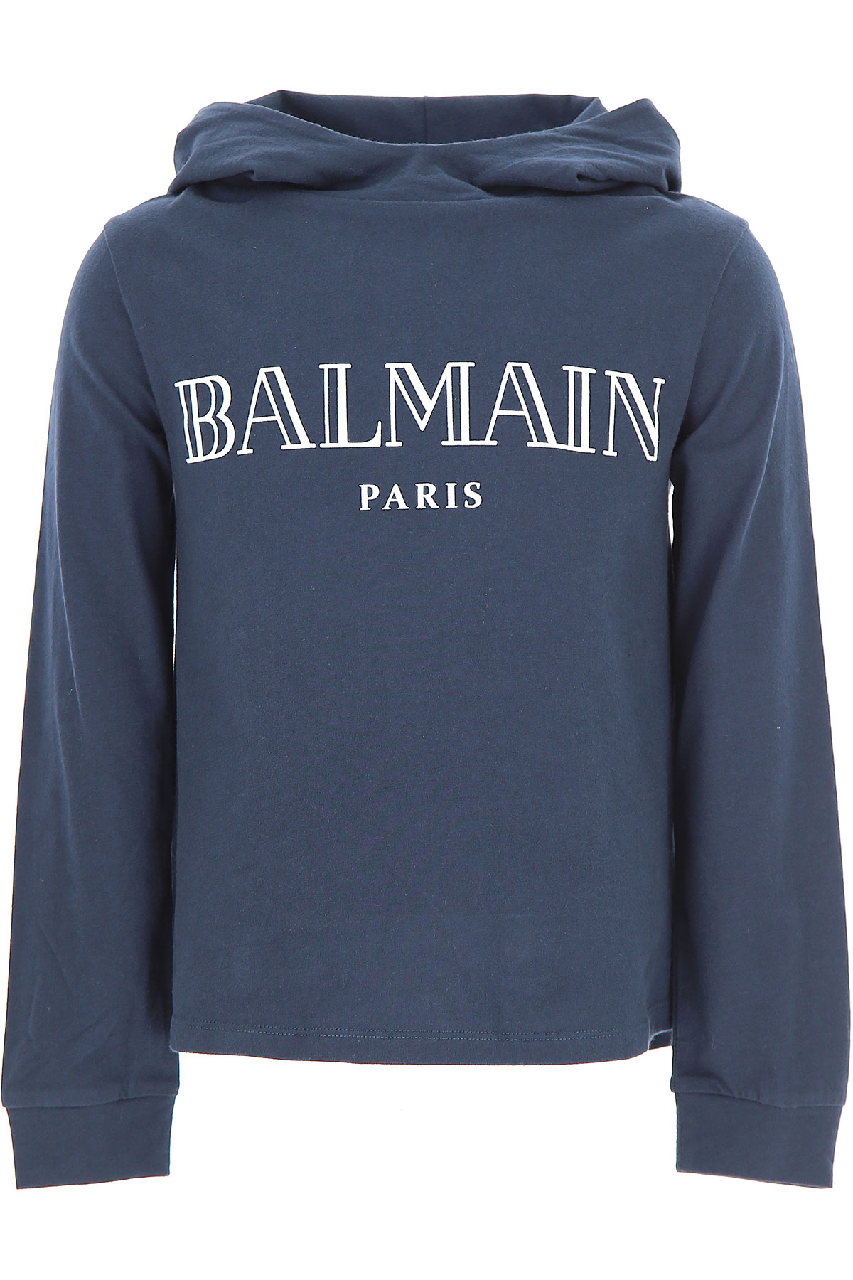 Image of Balmain Kids T-Shirt for Boys, Blue Navy, Cotton, 2017, 10Y 14Y 8Y