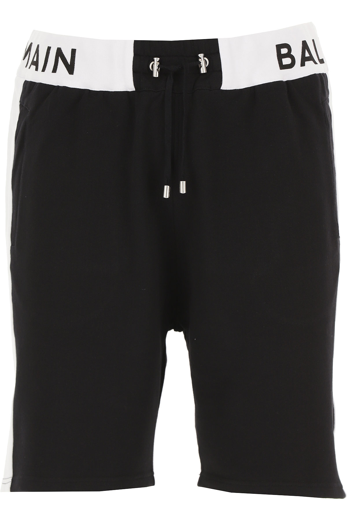 Balmain Shorts for Men On Sale, Black, Cotton, 2019, 30 36