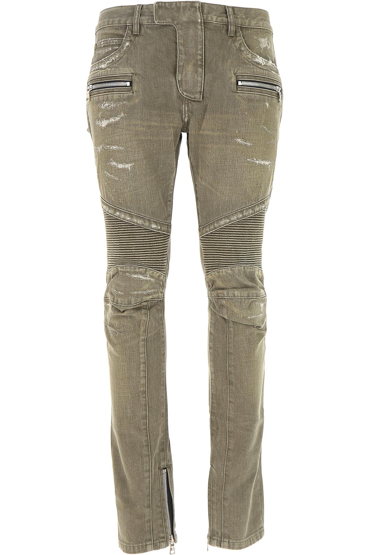 Balmain Jeans, Denim, Cotton, 2017, 30 34 36 USA-476617