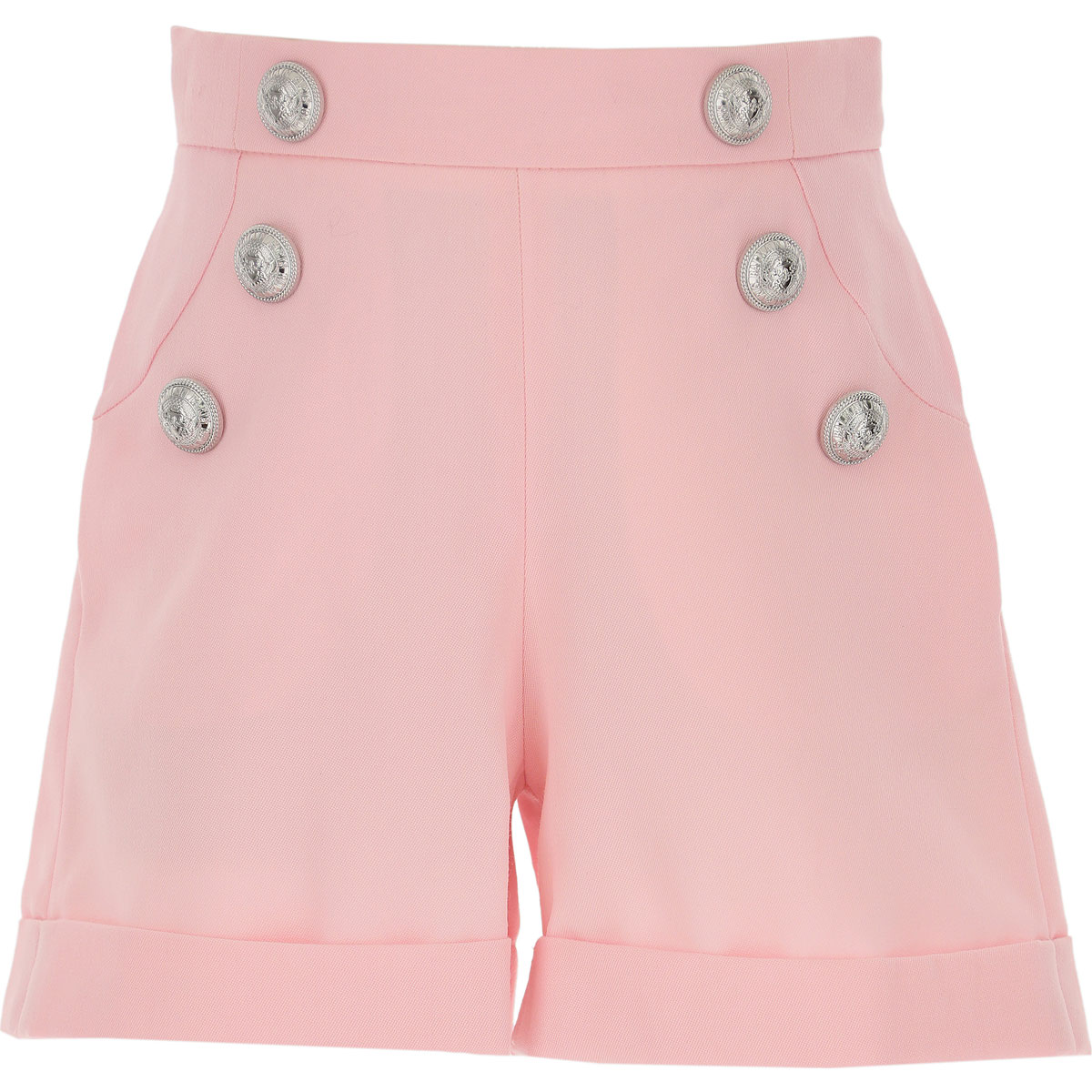 Balmain Kids Shorts for Girls On Sale, Pink, Virgin wool, 2019, 10Y 12Y 14Y 6Y 8Y