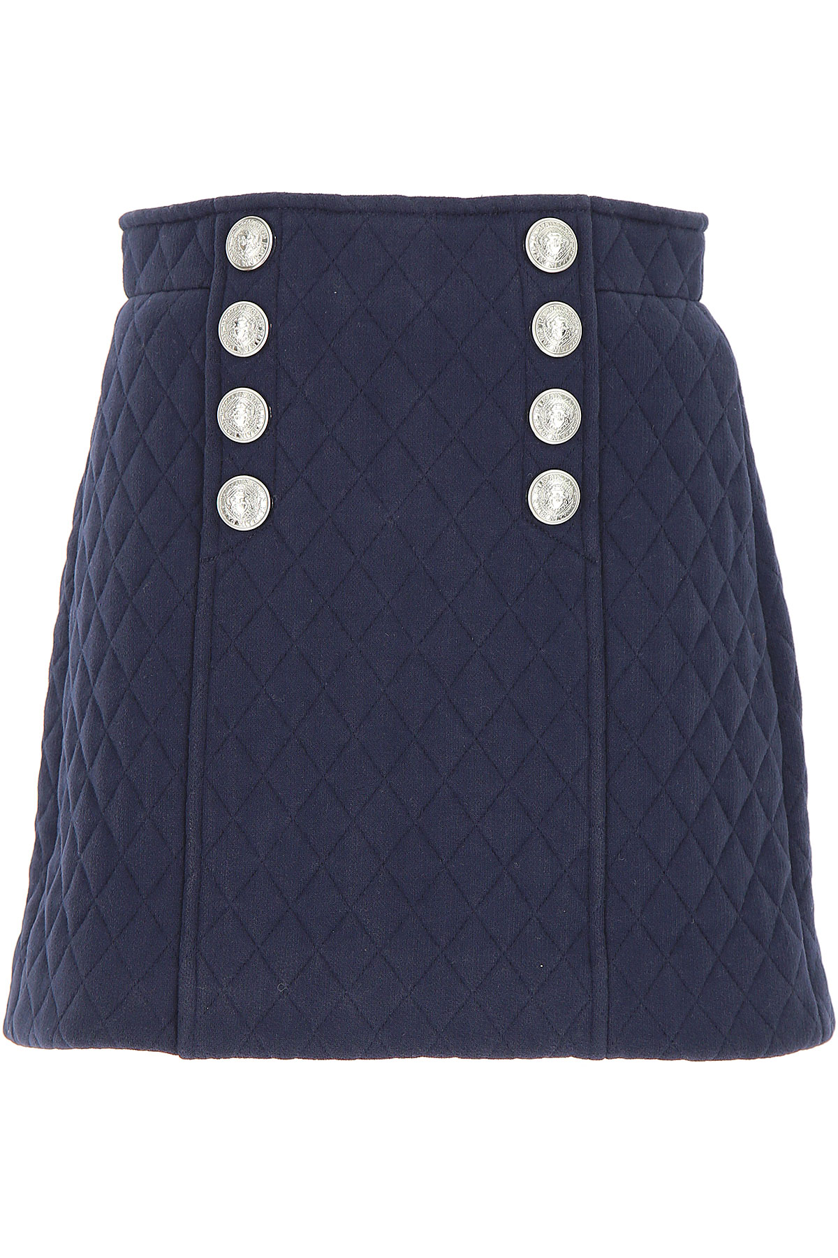 Image of Balmain Kids Skirts for Girls, Blue, Cotton, 2017, 10Y 14Y 8Y
