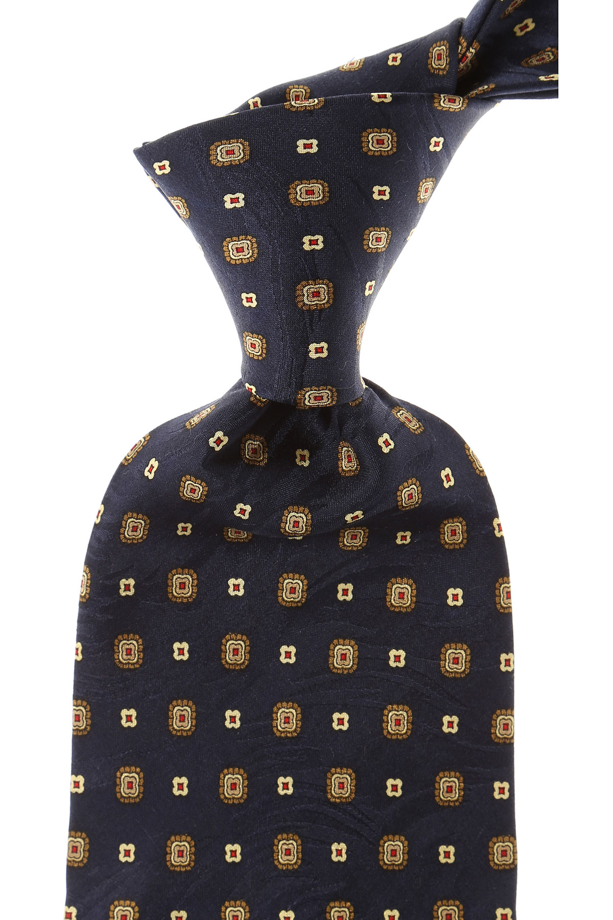Balmain Ties On Sale, Navy Blue, Silk, 2019