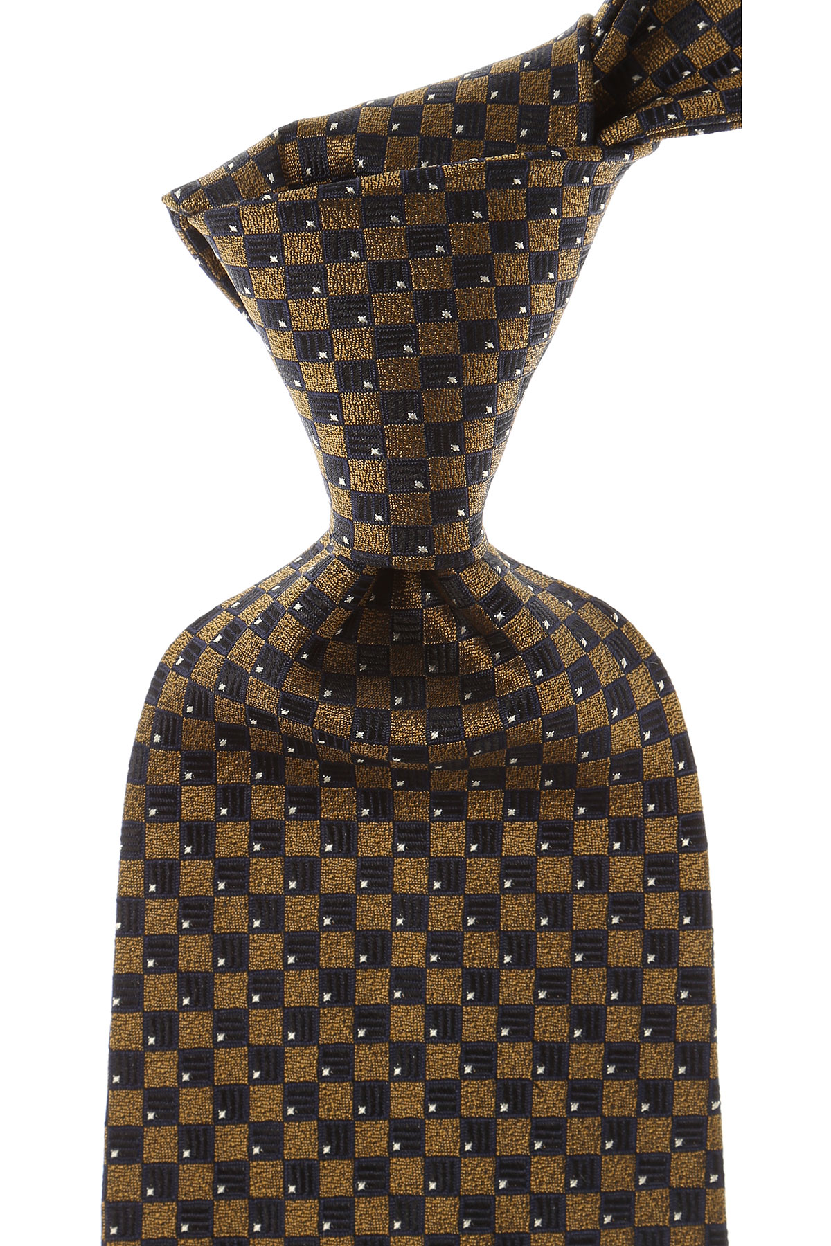 Balmain Ties On Sale, Bronze, Silk, 2019