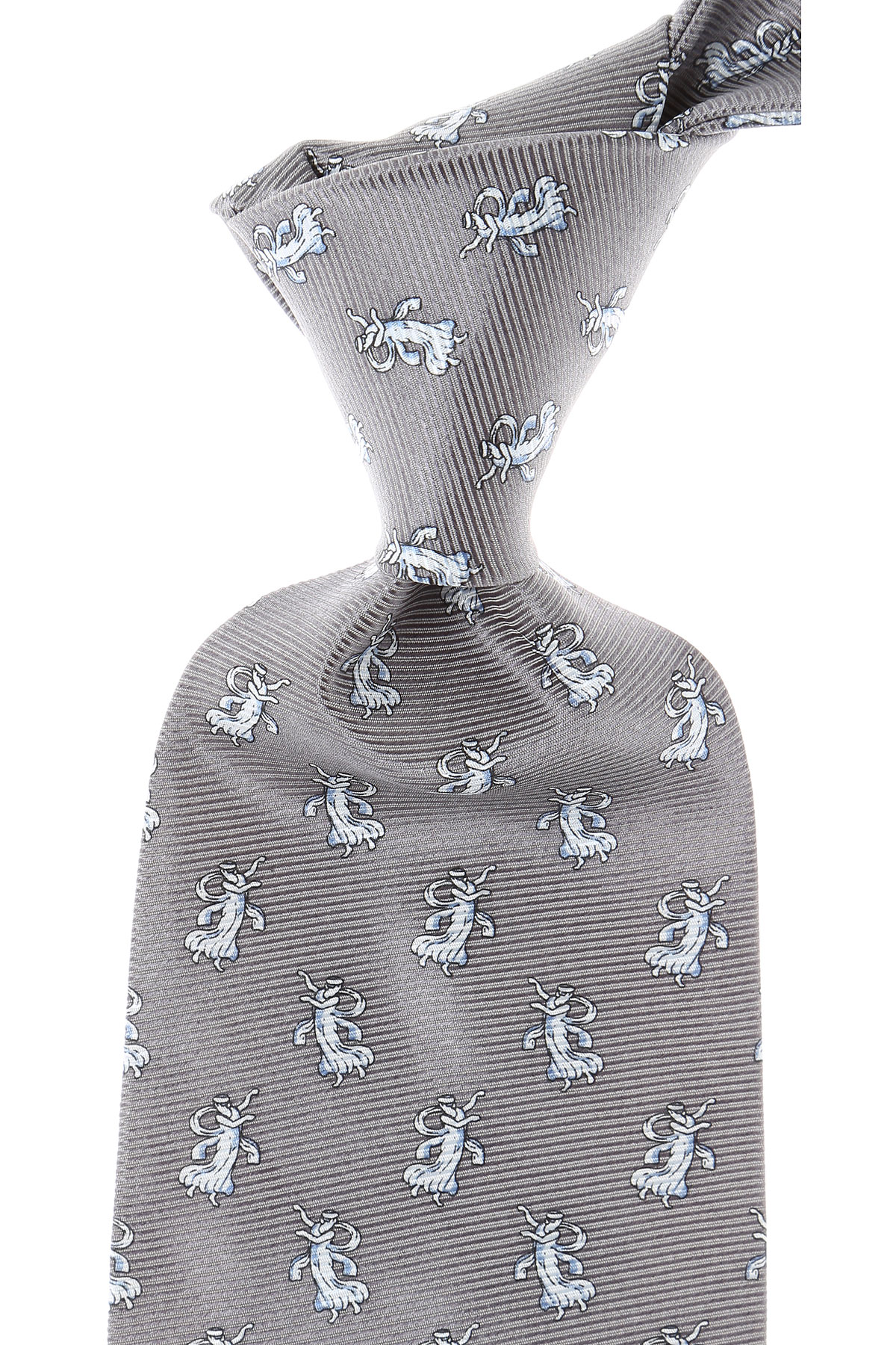 Balmain Ties On Sale, Dimgray, Silk, 2019