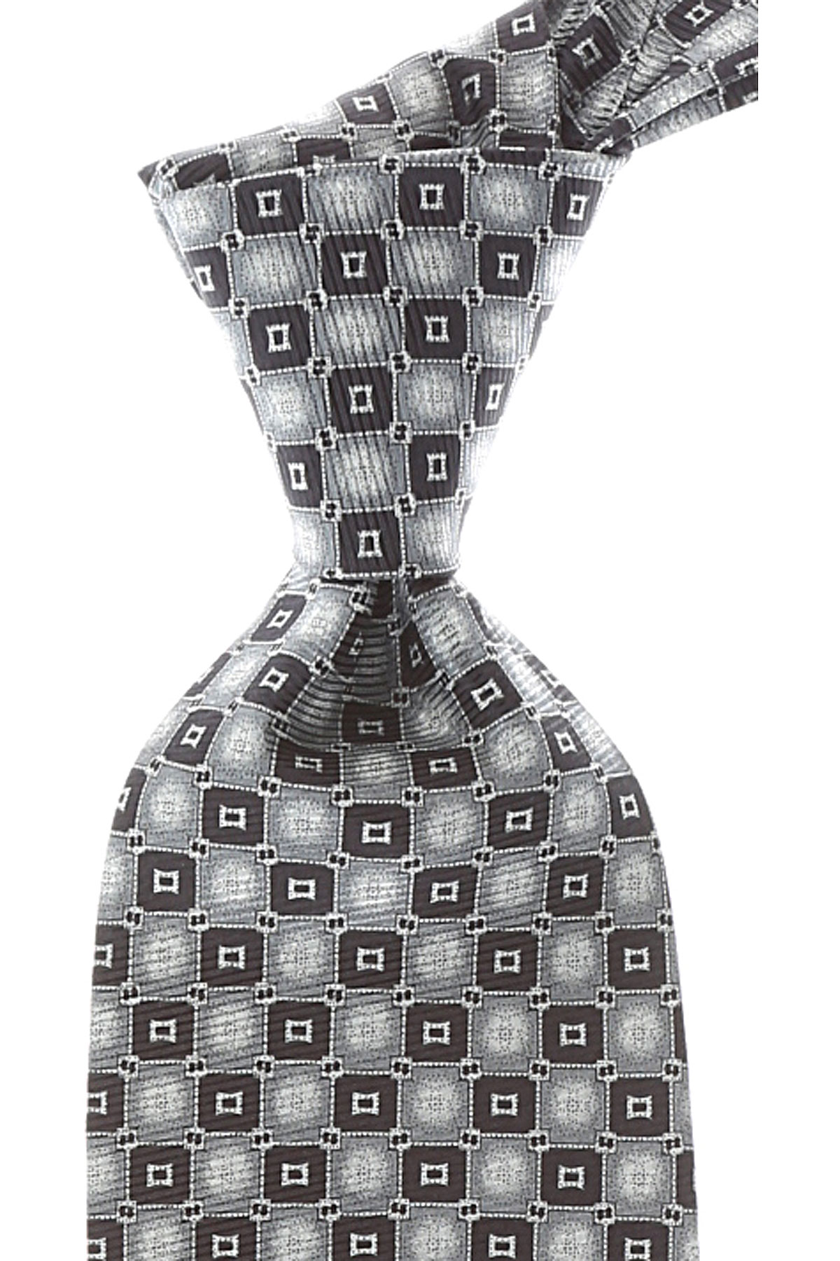 Balmain Ties On Sale, Ash Gray, Silk, 2019