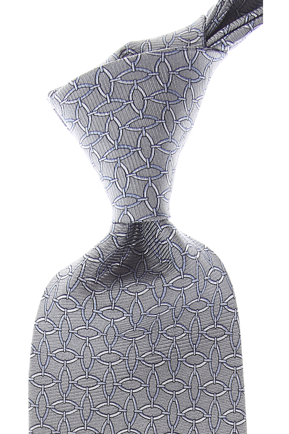 Balmain Ties On Sale, Grey, Silk, 2019