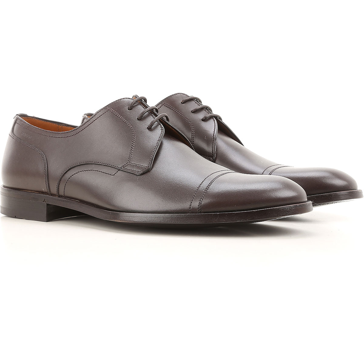 Image of Bally Brogue Shoes On Sale in Outlet, Coffee, Leather, 2017, 9