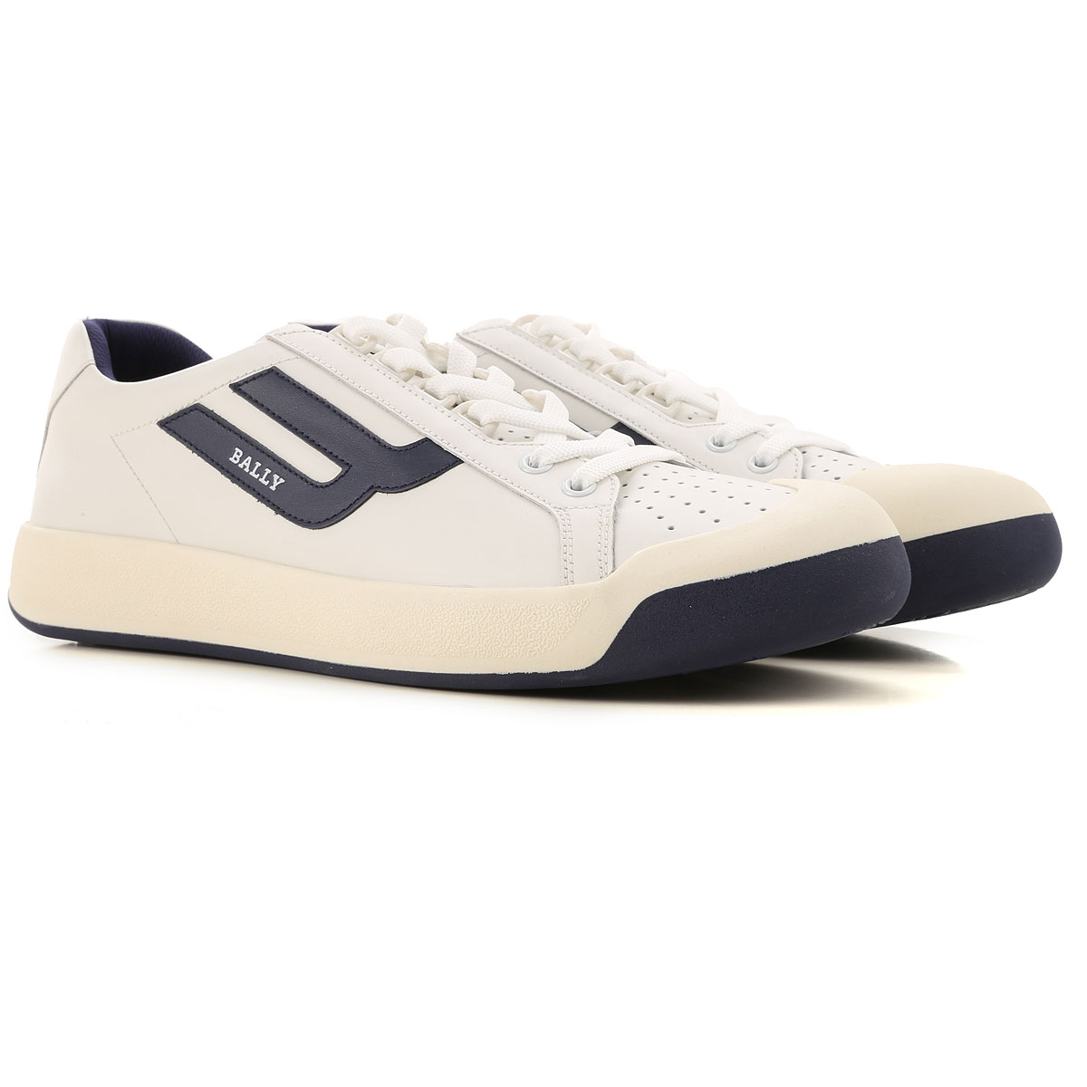 Bally Sneakers for Men On Sale, White, Leather, 2019, 6