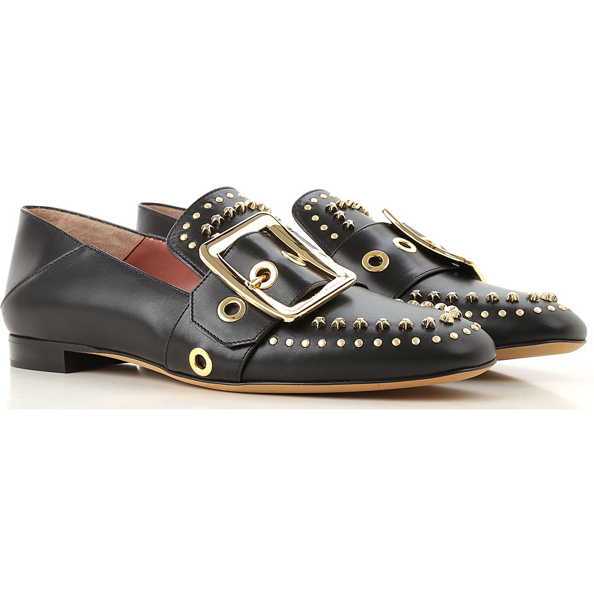Image of Bally Loafers for Women, Black, Leather, 2017, 8.5