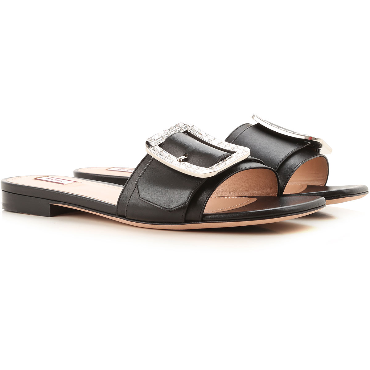 Bally Sandals for Women On Sale, Black, Leather, 2019, 10 6 6.5 7 8 8.5 9