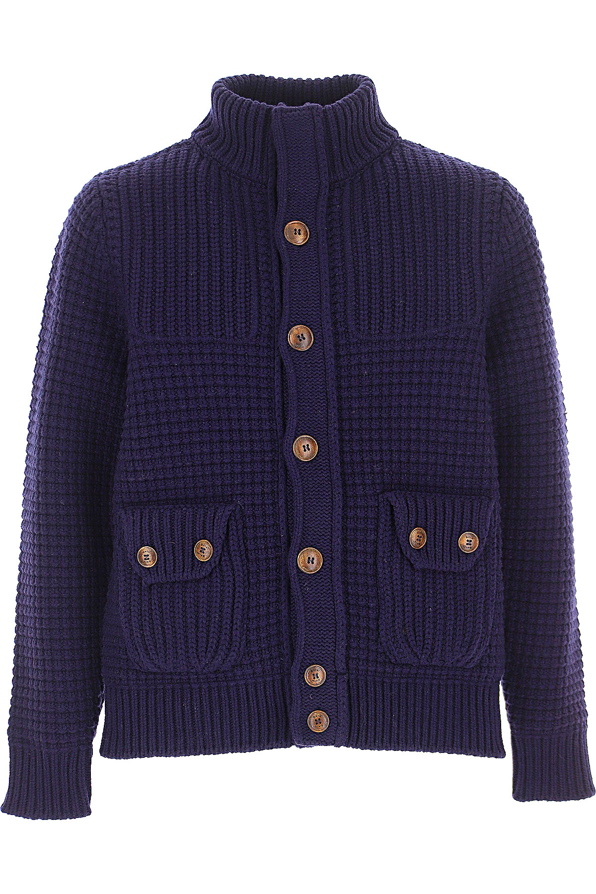Bark Sweater for Men Jumper On Sale, navy, Wool, 2019, XL XXL