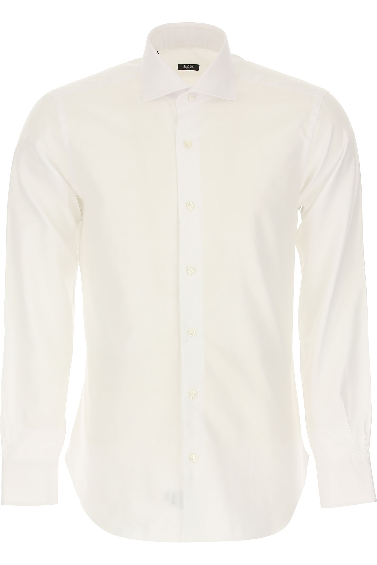 Barba Shirt for Men On Sale, White, Cotton, 2019, 16.5 17 17.5