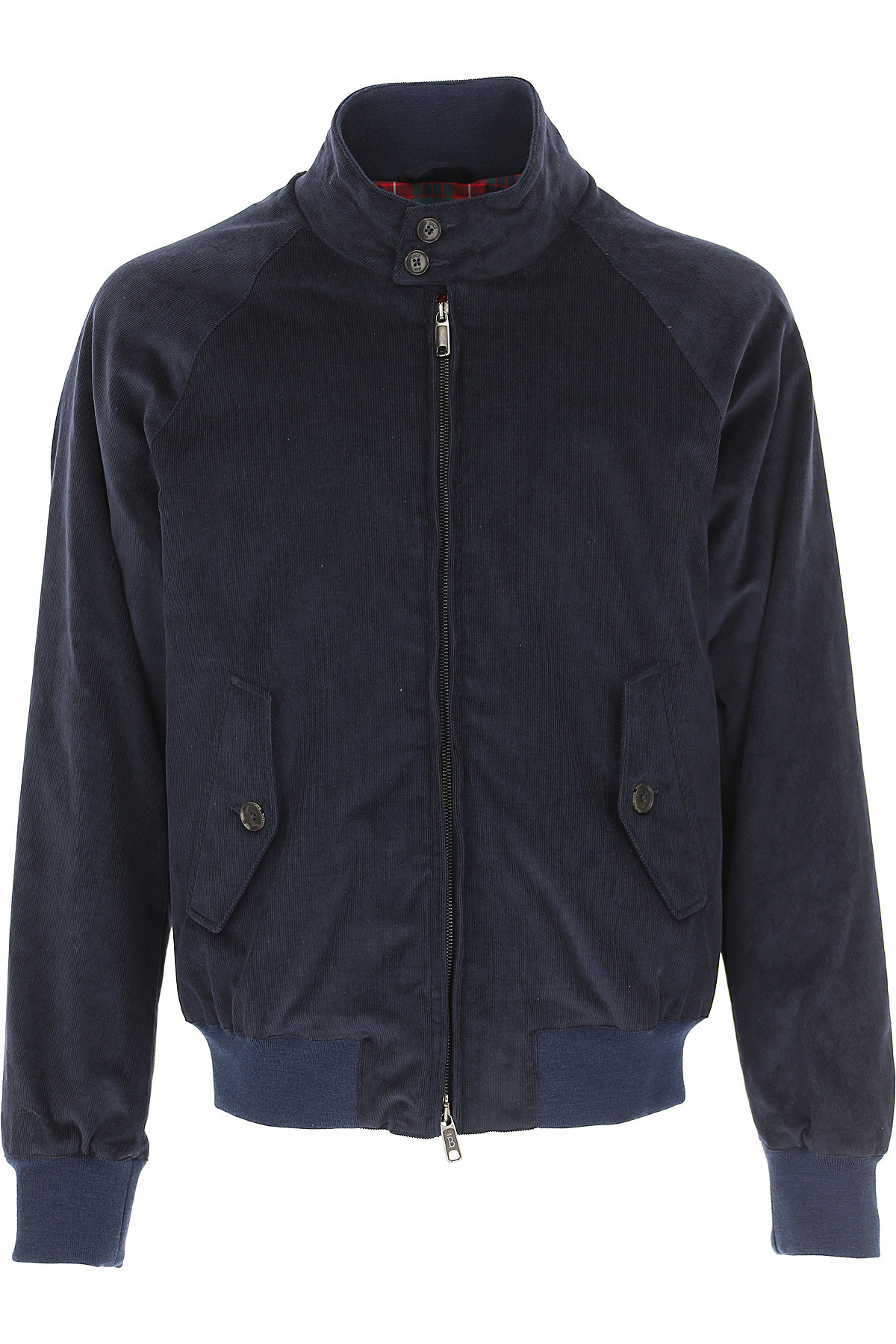 Image of Baracuta Jacket for Men, navy, Cotton, 2017, UK 36 - IT 46 UK 38 - IT 48 UK 40 - IT 50 UK 42 - IT 52 UK 44 - IT 54 UK 46 - IT 56