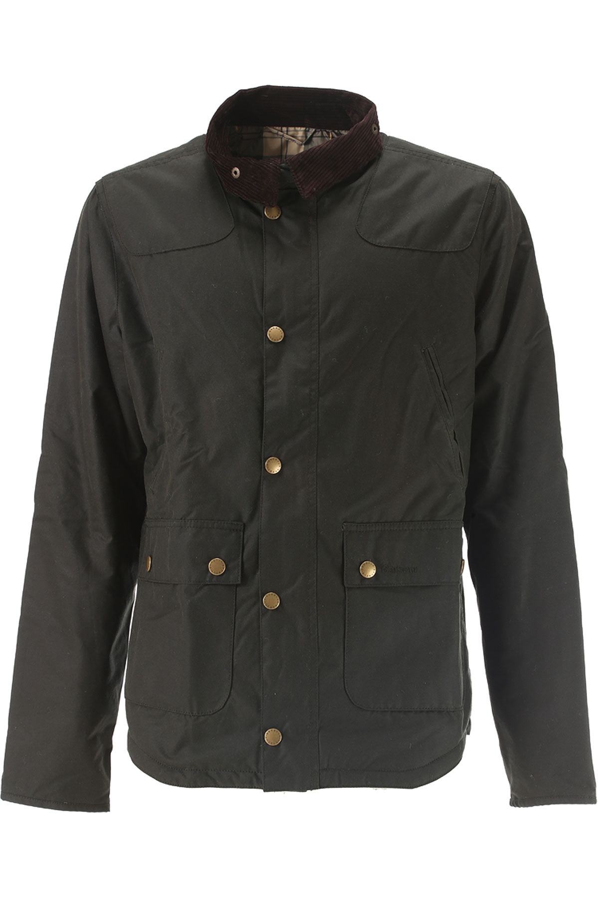 Image of Barbour Jacket for Men, Dark Bottle Green, Waxed Cotton, 2017, L M