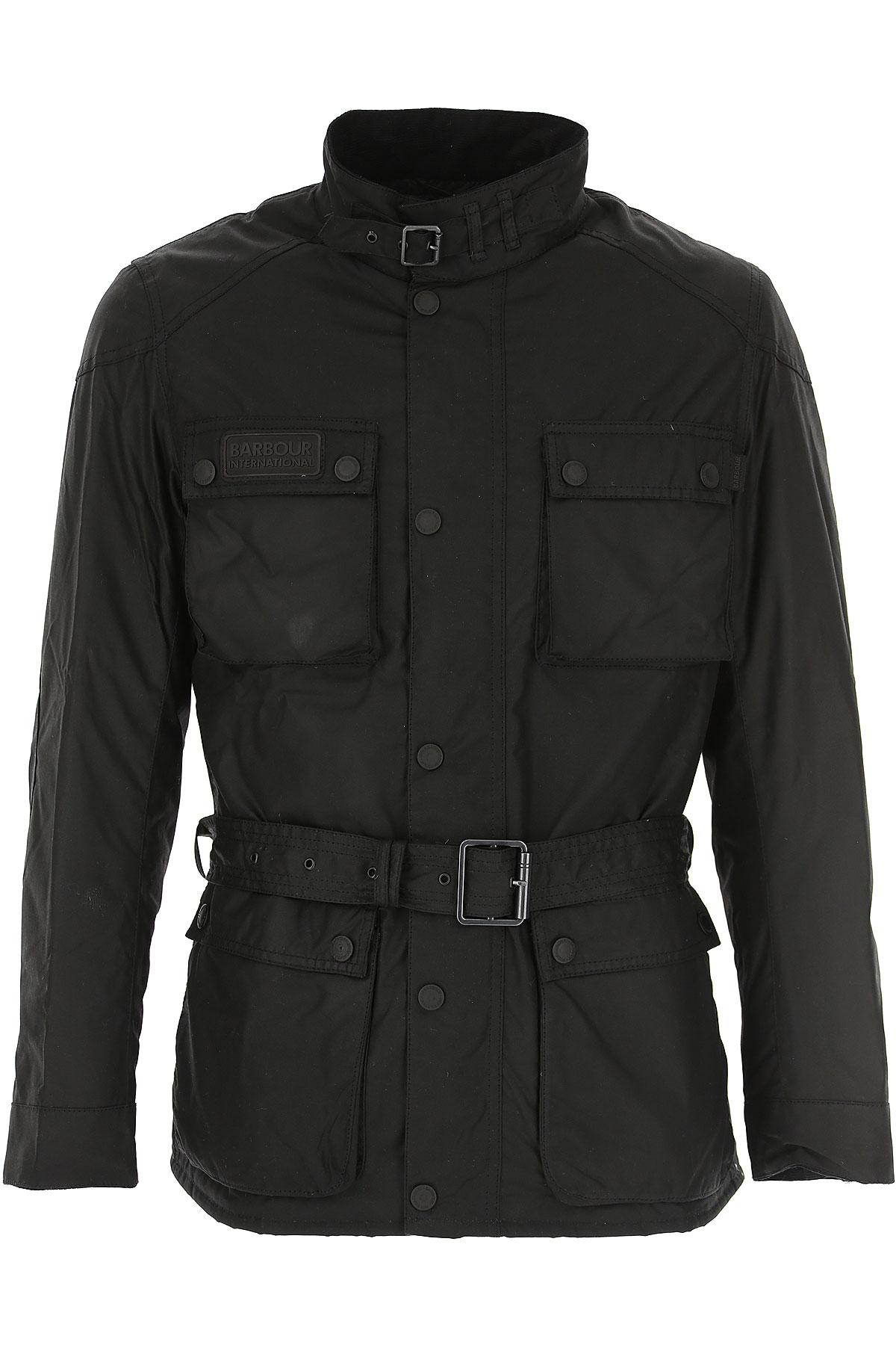 Barbour Jacket for Men On Sale, Black, Cotton, 2019, L M XL