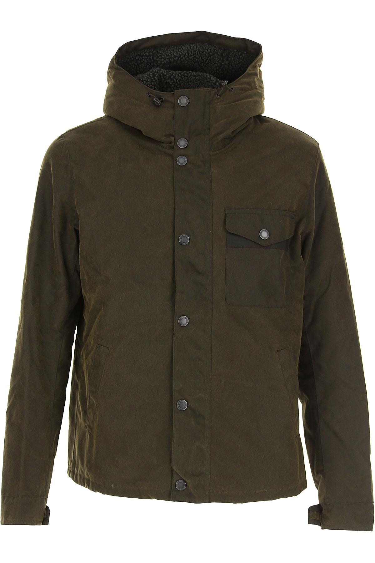 Barbour Jacket for Men On Sale, Olive Green, Cotton, 2019, M XL