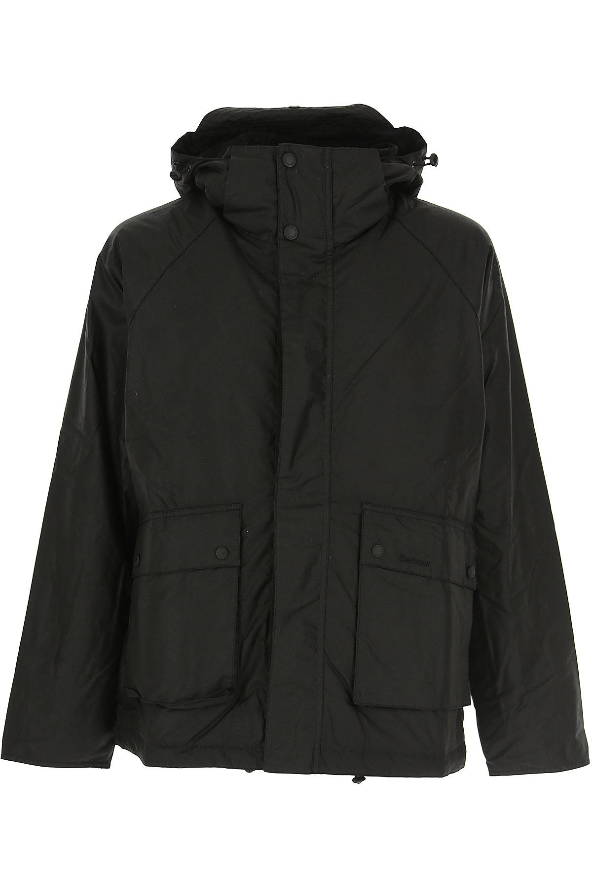 Barbour Jacket for Men On Sale, Black, Cotton, 2019, L M XL XXL