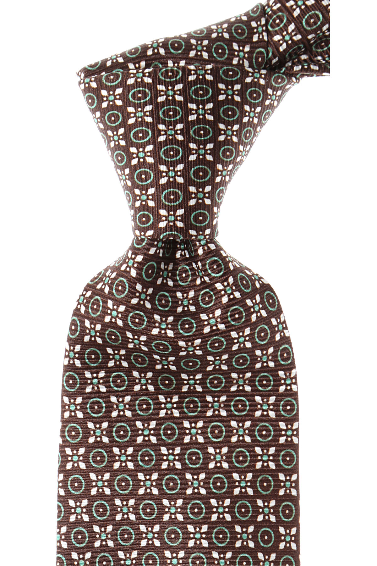 Image of Barba Napoli Ties On Sale, Brown, Silk, 2017