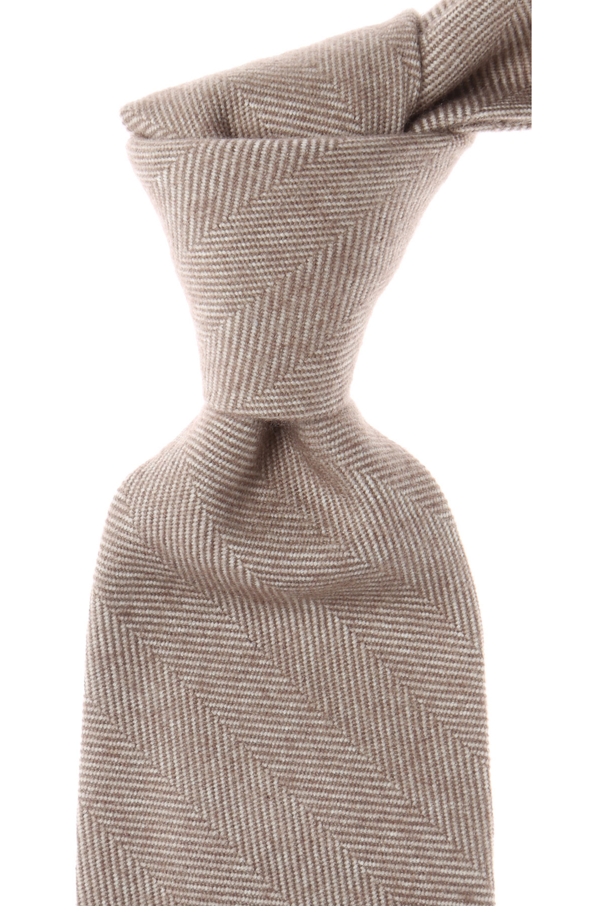 Image of Barba Napoli Ties On Sale, beige melange, Wool, 2017