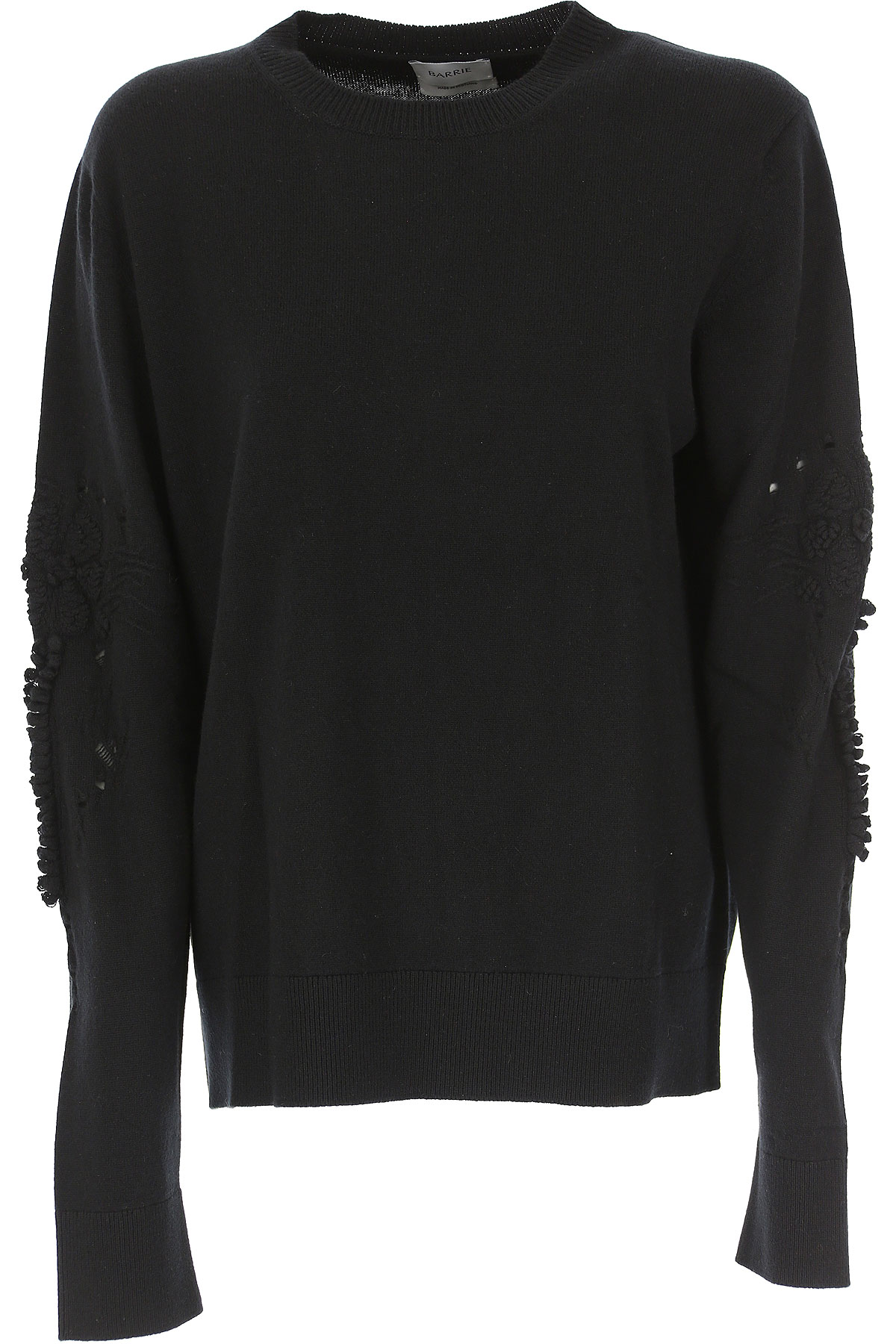 Barrie Sweater for Women Jumper On Sale, Black, Cashemere, 2019, 6 8