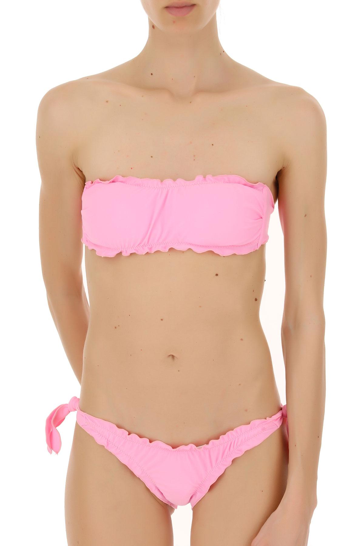 Image of Biki Branz Bikini Swimwear Bathing Swimsuits for Women, Pink, polyamide, 2017, S M L