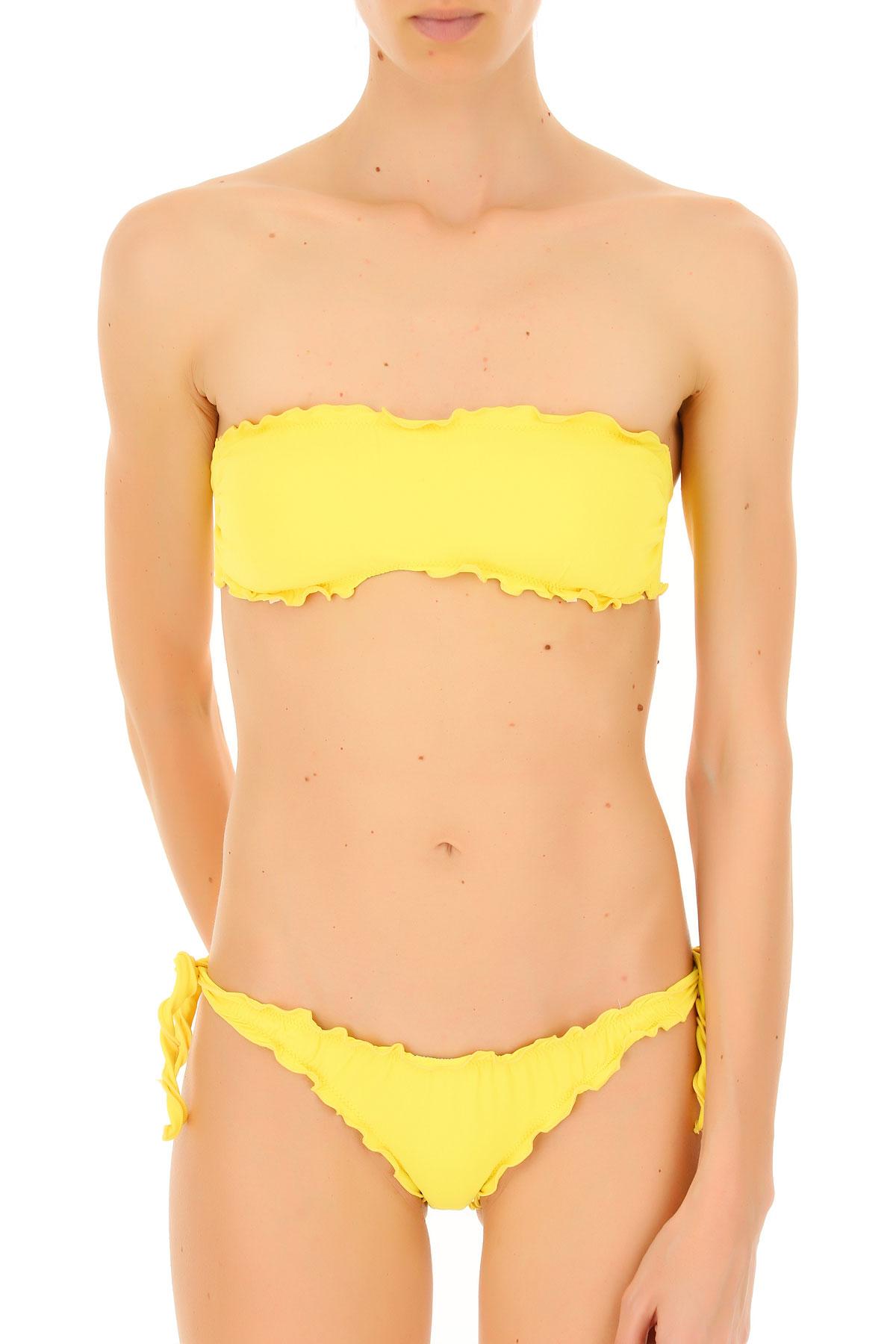 Image of Biki Branz Bikini Swimwear Bathing Swimsuits for Women, Candy Lemon, polyamide, 2017, S M