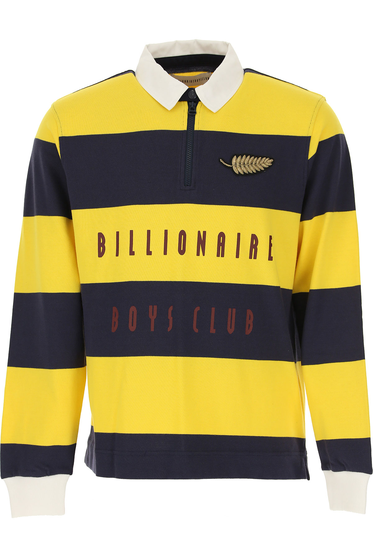 BILLIONAIRE BOYS CLUB Polo Shirt for Men On Sale, Yellow, Cotton, 2019, L M S