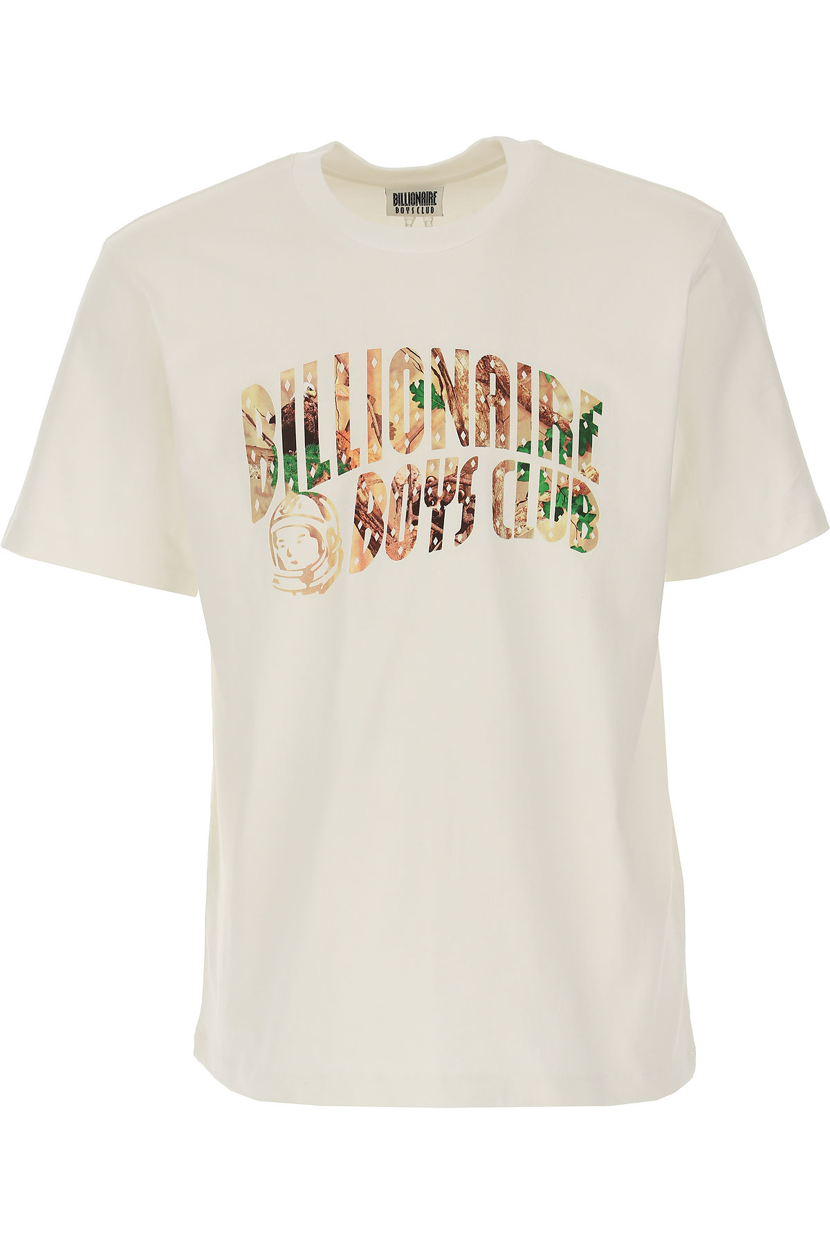 BILLIONAIRE BOYS CLUB T-Shirt for Men On Sale, White, Cotton, 2019, M XL