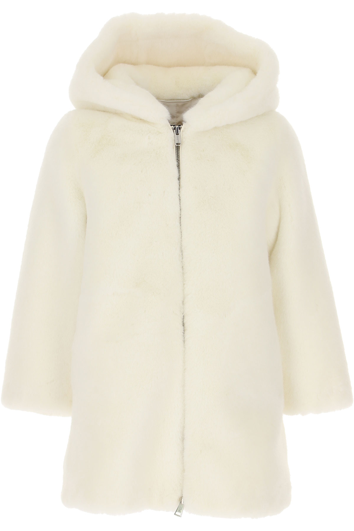 Bomboogie {DESIGNER} Kids Coat for Girls On Sale, White, polyester, 2019, 2Y 4Y 6Y