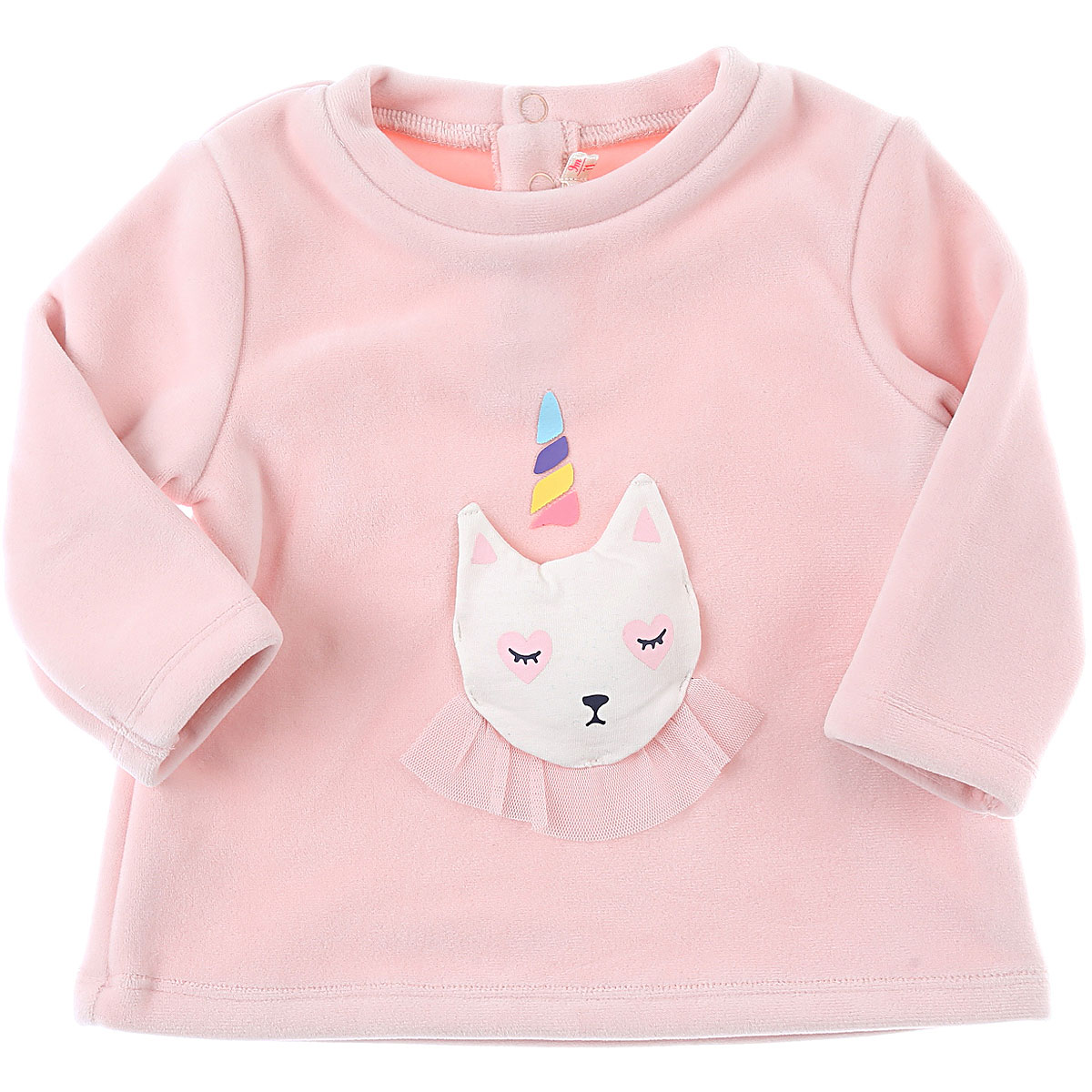 Billieblush Baby Sweatshirts & Hoodies for Girls On Sale, Baby Rose, polyester, 2019, 12M 18M 2Y 6M 9M