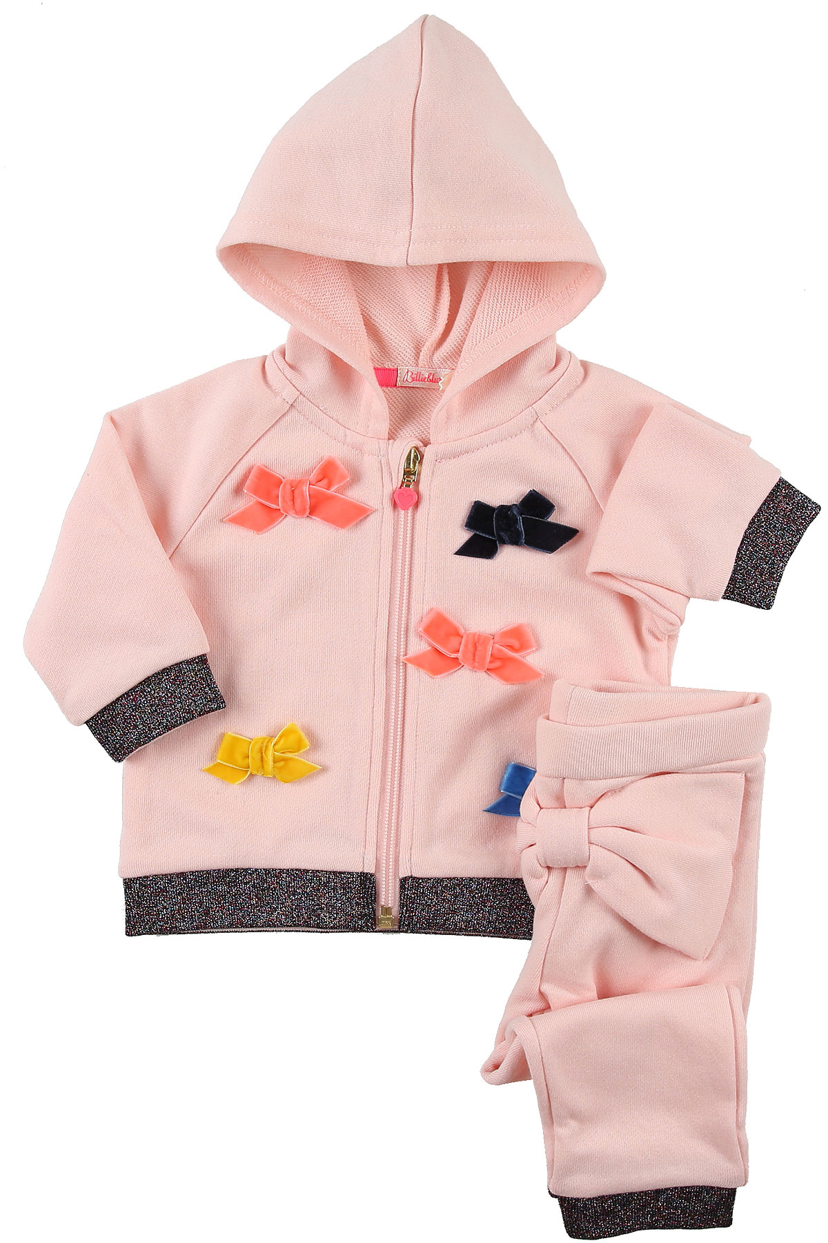 Image of Billieblush Baby Sets for Girls, Pink, polyester, 2017, 6M 9M