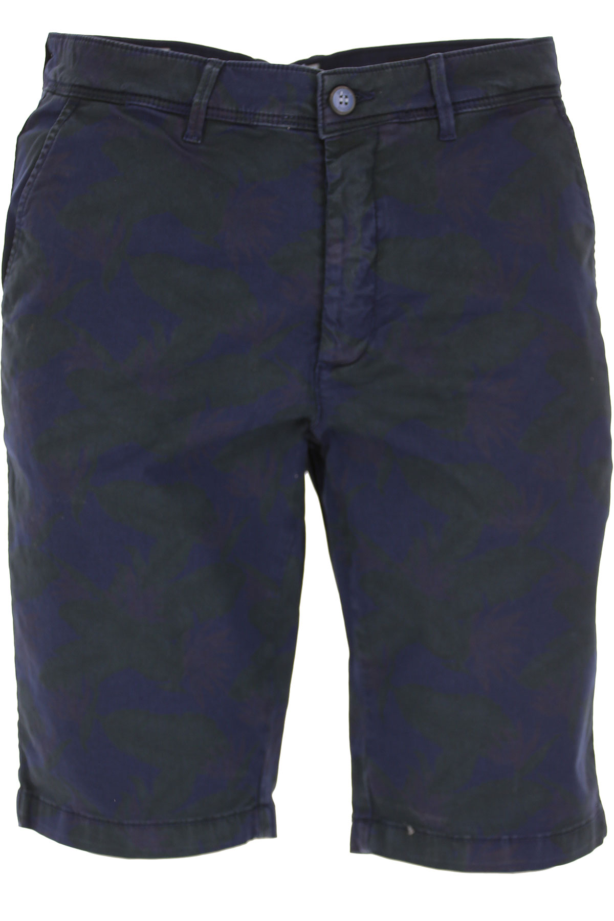 Image of Bomboogie Shorts for Men On Sale, Dark Blue, Cotton, 2017, 30 34
