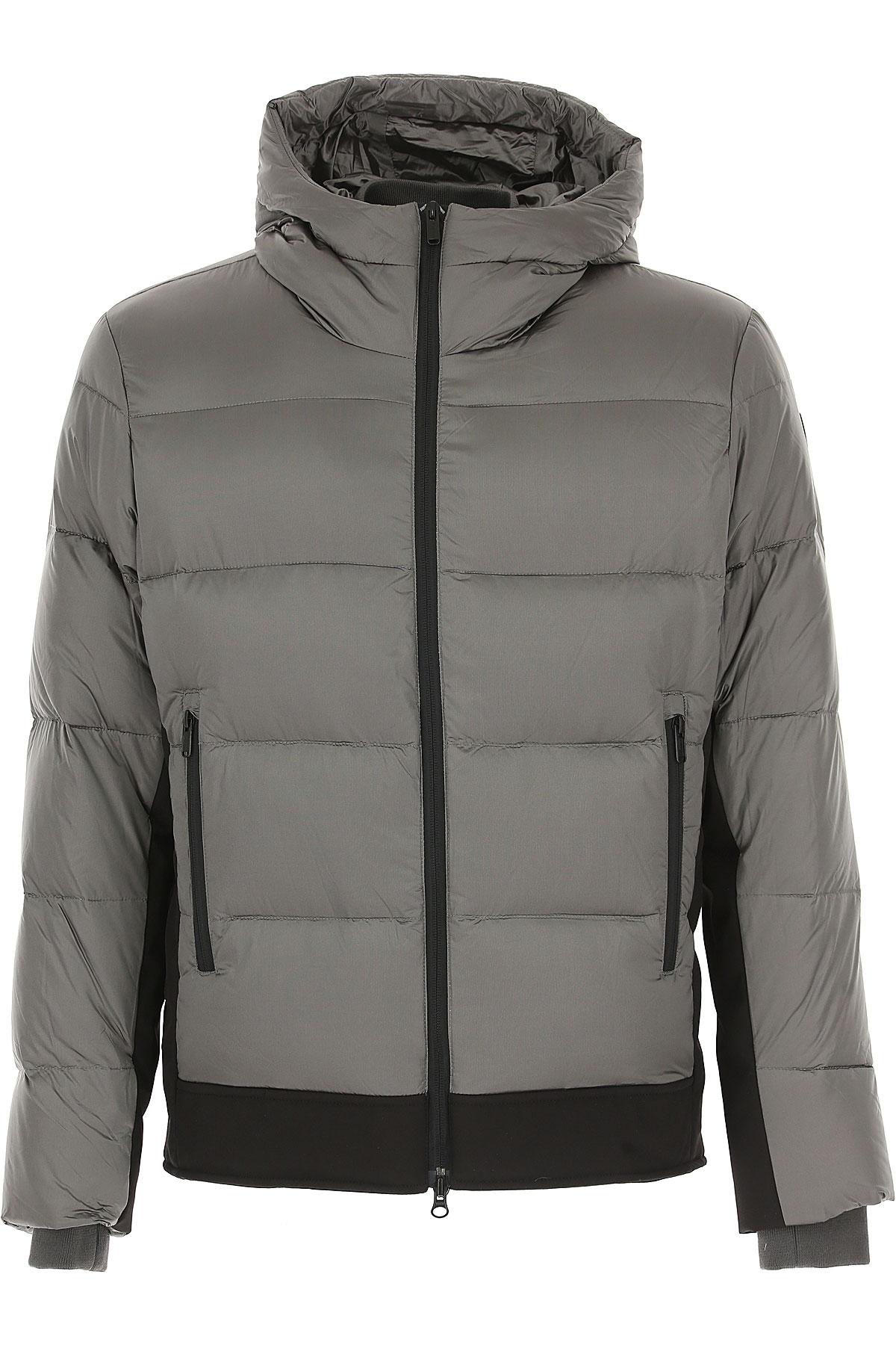 Image of Bomboogie Down Jacket for Men, Puffer Ski Jacket, Grey, Down, 2017, L M S XL XXL XXXL