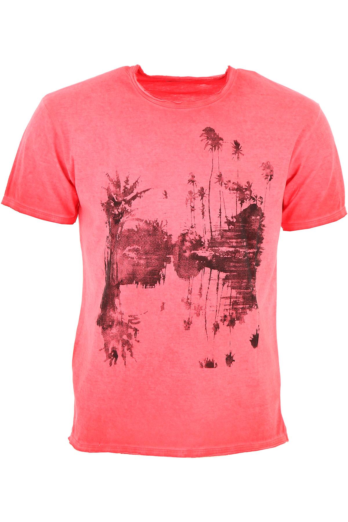 Bomboogie T-Shirt for Men, Pink, Cotton, 2017, L M S XL XXL XXXL USA-459202