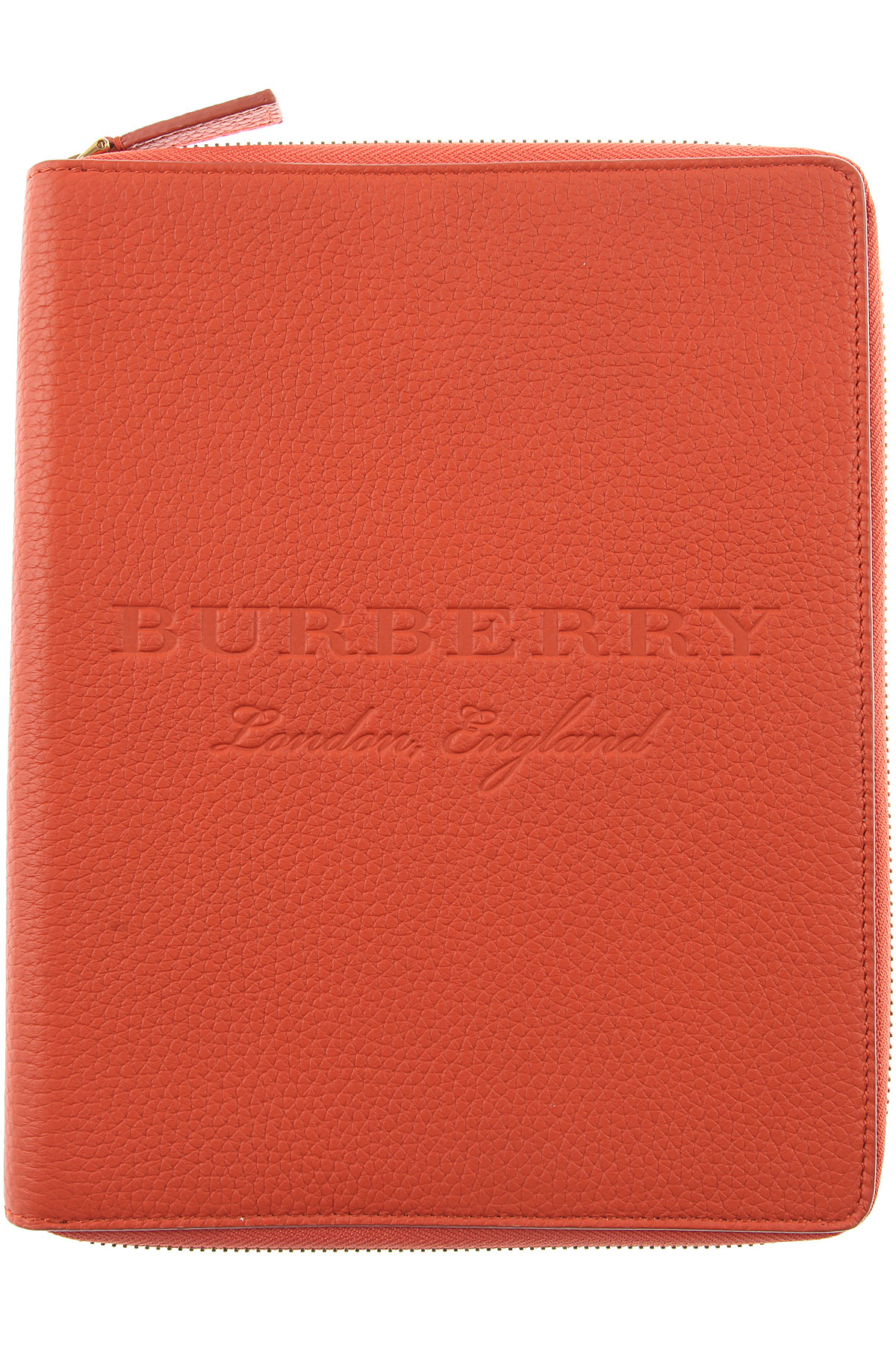 Image of Burberry Mens Wallets, Orange, Leather, 2017