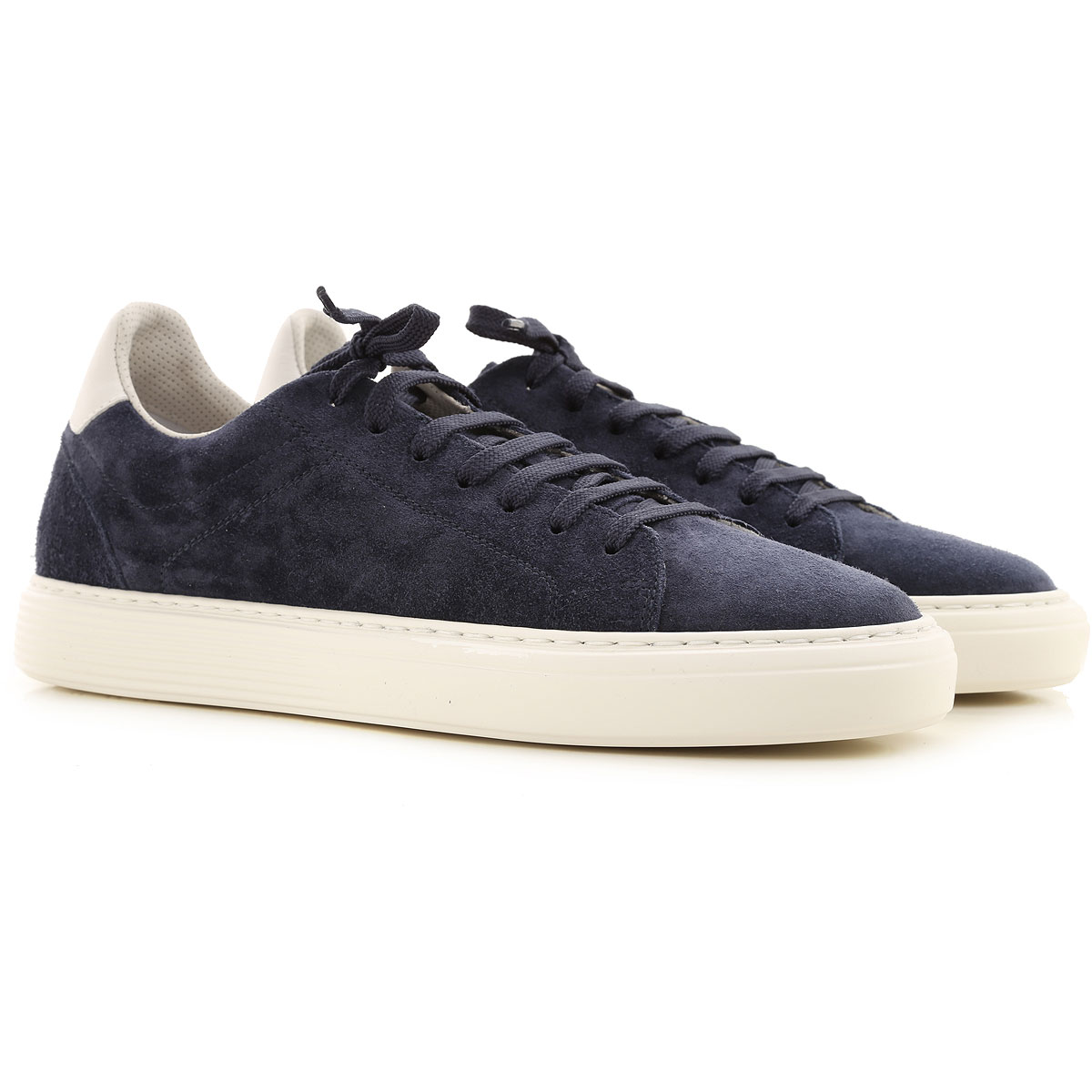 Brunello Cucinelli Sneakers for Men On Sale, navy, Suede leather, 2019, 10.5 11.5 7.5