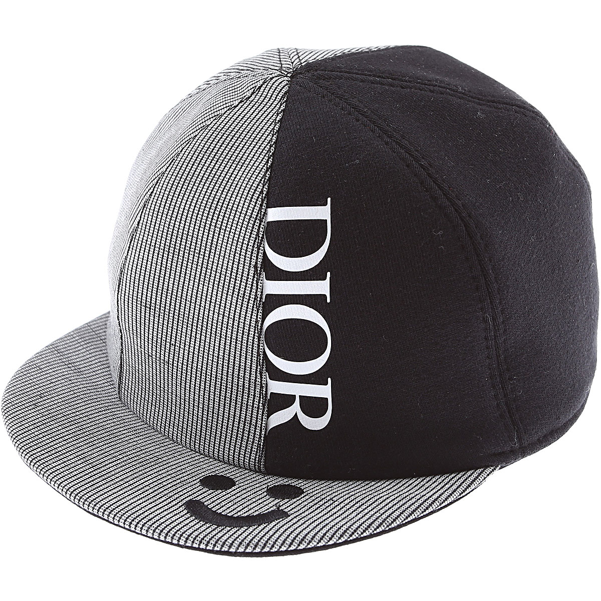 Baby Dior Baby Hats for Boys On Sale, Black, Cotton, 2019, I II