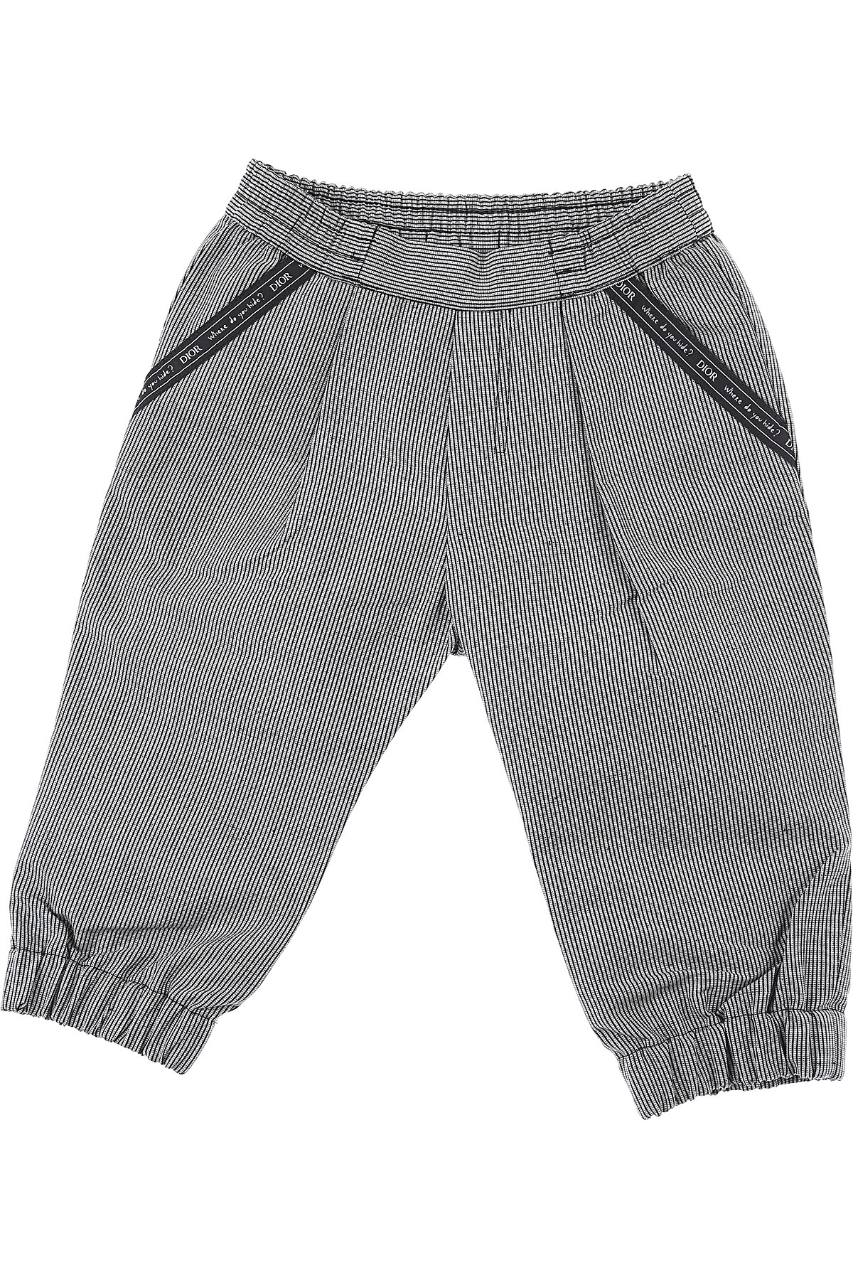 Baby Dior Baby Pants for Boys On Sale, Grey, Cotton, 2019, 12 M 18 M 2Y 3Y 9 M